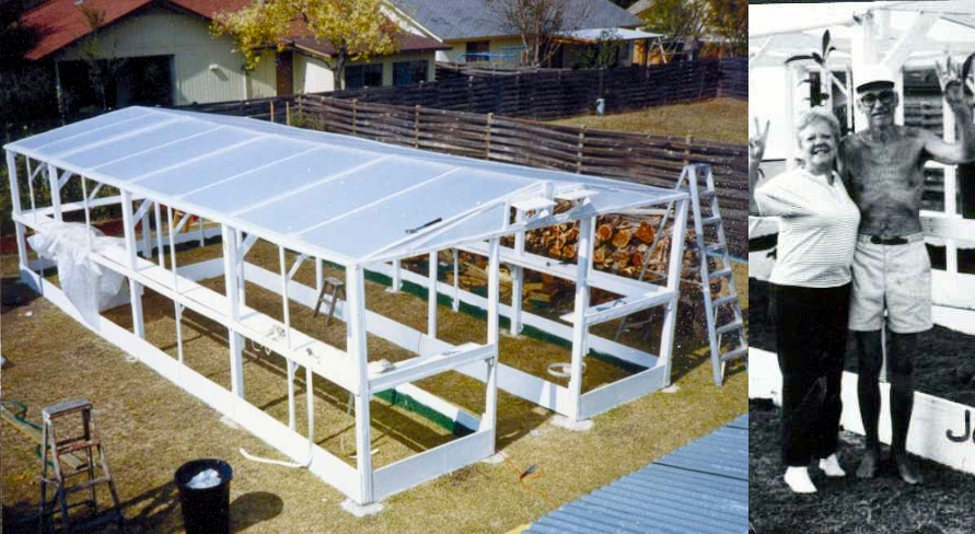 Roll-Up Greenhouse Using Our Plastic Poly